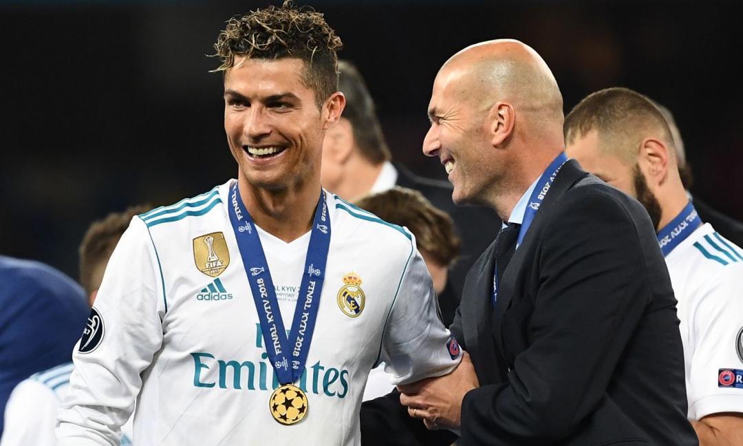 Ritornerai... al Real. Così Zidane, così Ronaldo?