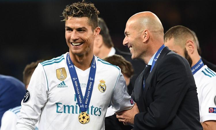 Clamoroso Zidane: 'Ronaldo torna al Real Madrid? Vedremo a giugno...'