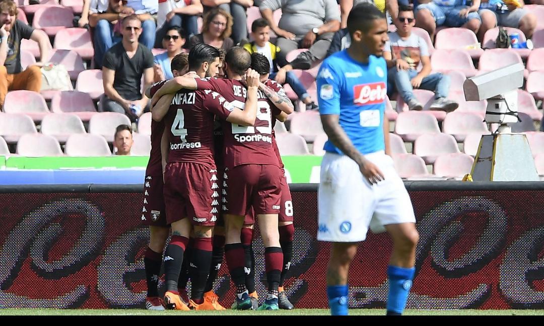 Il Toro sceglie di lottare: 2-2 col Napoli