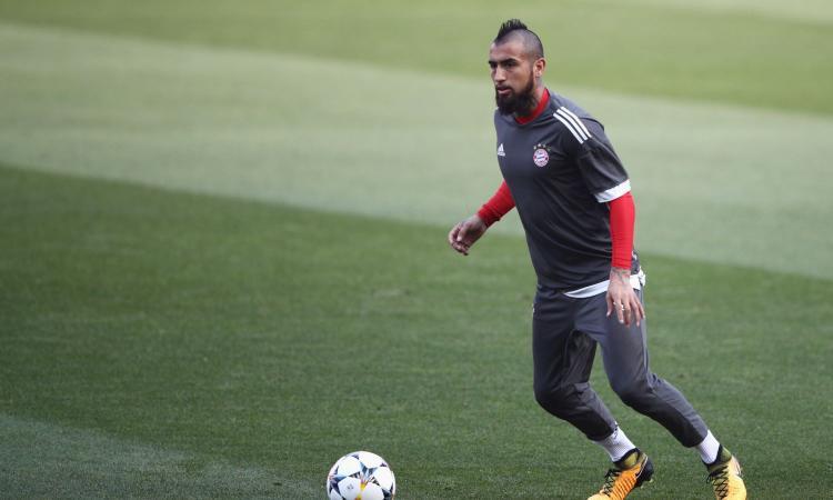 Bayern Monaco, Vidal apre all'addio: 'Ecco dove mi piacerebbe giocare'