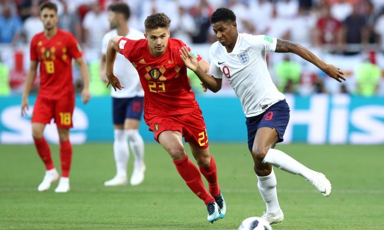 Belgio-Inghilterra testa a testa VIDEO
