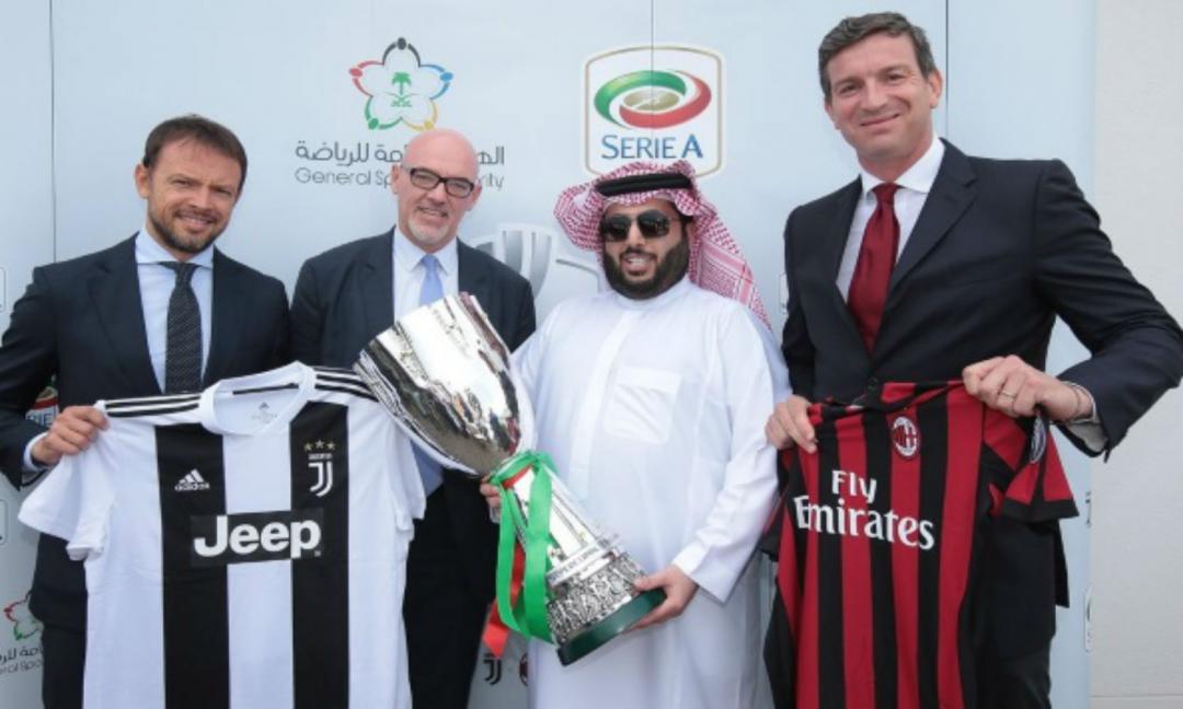 Juve e Milan in Arabia Saudita: tutto quel che c'è da sapere