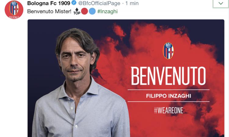 Bologna, UFFICIALE: Inzaghi è il nuovo allenatore, contratto fino al 2020
