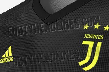 b15fb1b45 Watch  Juventus  2018 19 third kit leaked
