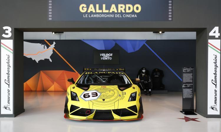 PIT STOP: Batman, Rocky e gli altri, in mostra tutte le Lamborghini del cinema