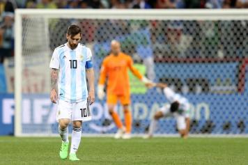 Messi deluso Argentina