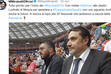Mirabelli Gattuso Milan Russia Twitter