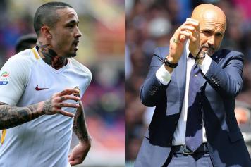 Nainggolan Roma Spalletti Inter combo