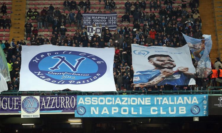 Napoli, allarme San Paolo: Champions e Serie A a rischio, sediolini non a norma