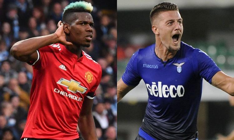 Lazio: Milinkovic mette un like al Manchester United