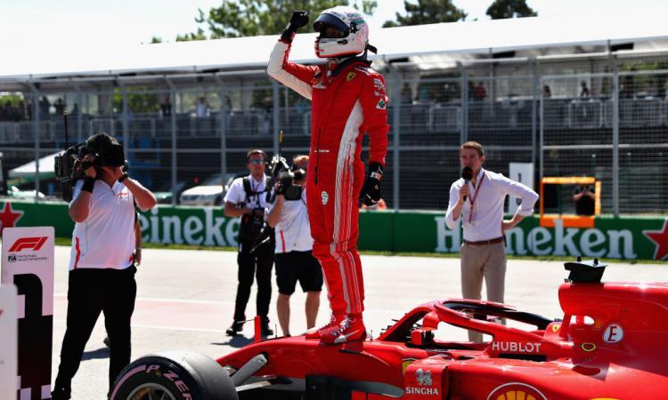 Formula 1: GP Canada, 50 volte Vettel nel circuito Villeneuve. Male Hamilton!