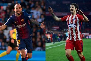 combo Vidal Barcellona Vrsaljko Atletico