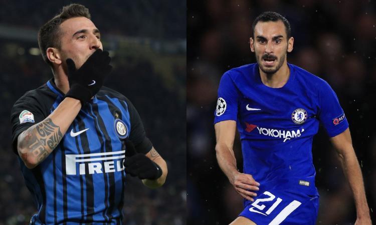 Inter-Chelsea, idea scambio: Zappacosta da Spalletti, Vecino da Sarri