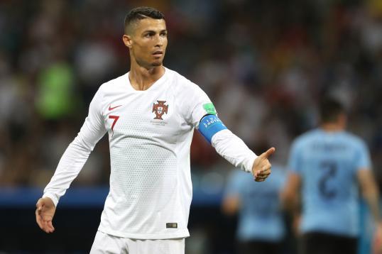 Cristiano Ronaldo Portogallo Uruguay Barcelona Plan Rival Italian Giants