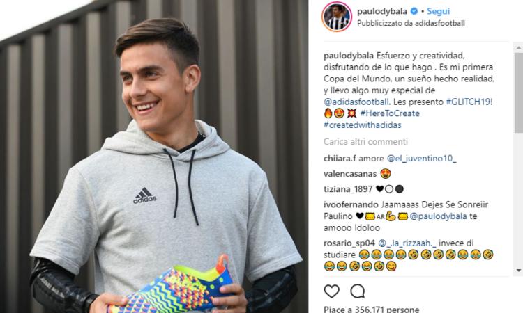 Dybala-Adidas: che Joya per la Juve!