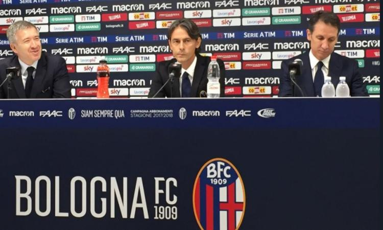 Bologna, Inzaghi si presenta: 'Voglio l'Europa League, la scorsa stagione al di sotto delle aspettative. Sul mercato...'