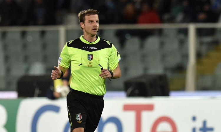 Juve-Verona: arbitro, assistenti e var