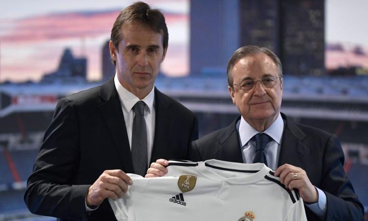 Perez attacca: 'Spagna assurda, sleali solo perché siamo il Real Madrid'. Lopetegui in lacrime alla presentazione