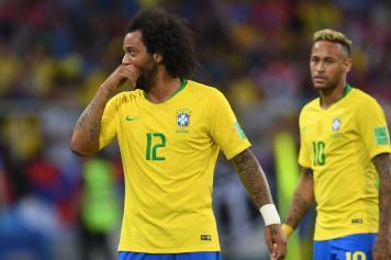 marcelo, brasile, triste, neymar, preoccupato, 2018