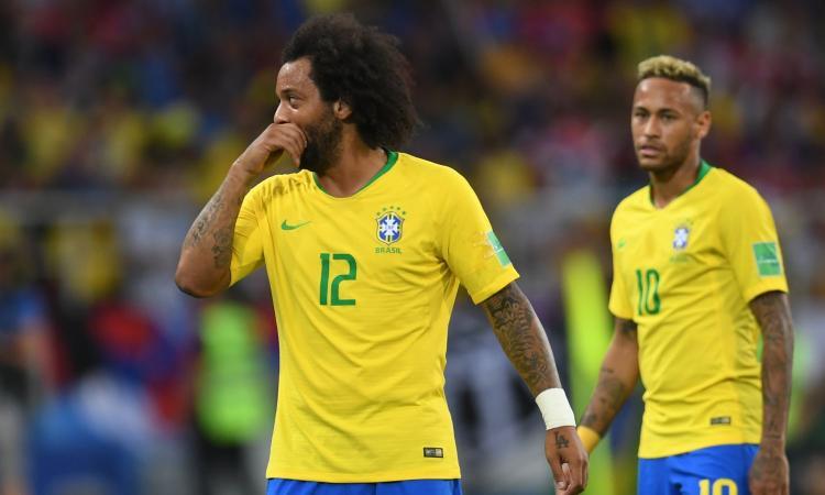 Marcelo rifiuta l'alcol test: ritirata la patente in Brasile