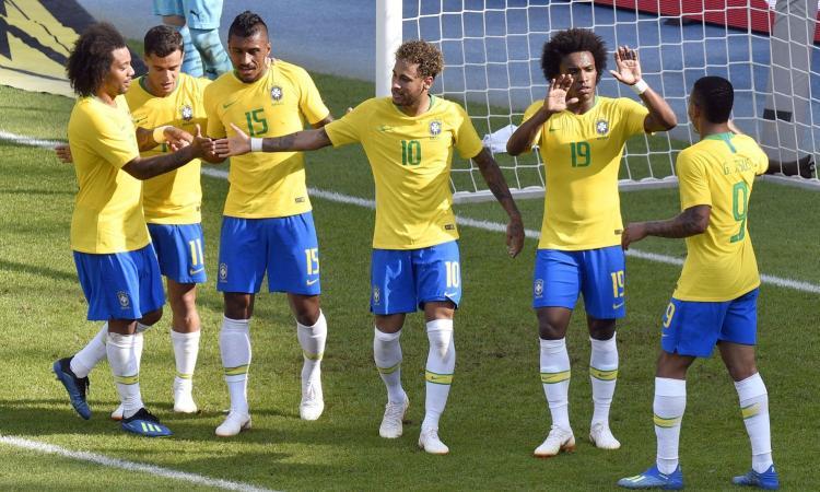 Mondiali 2018: il Brasile prende la vetta, Germania e Spagna completano il podio