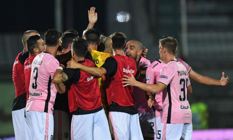 Serie B: Palermo-Frosinone, per i bookies finisce 1