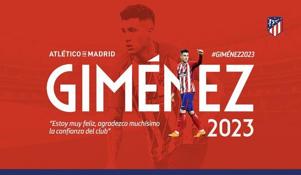 Niente Juve, è UFFICIALE il rinnovo di Gimenez con l'Atletico Madrid