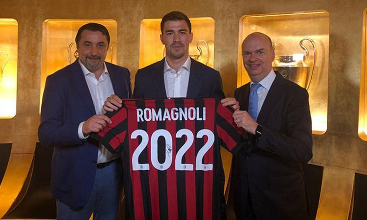 MILAN, UFFICIALE: ROMAGNOLI RINNOVA FINO AL 2022. Fassone: 'Ridevamo dell'interesse di altri club'