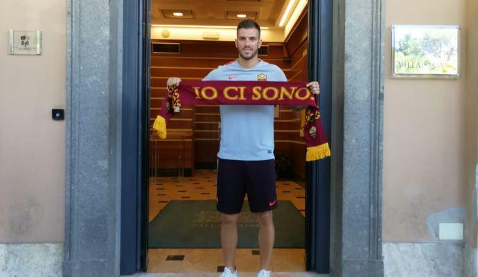 Roma, Santon: 'Qui per la rinascita. Mirante: 'Che grande club!'