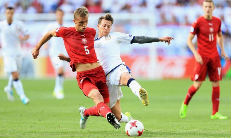 Slavia Praga, Soucek: 'San Siro come Wembley. Inter vale Dortmund e Barcellona'