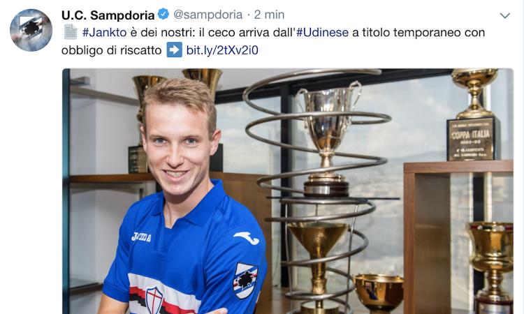 Terza Maglia Sampdoria JAKUB JANKTO