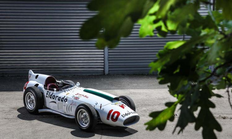 PIT STOP: la rivoluzione Maserati, un gelato per Stirling Moss FOTO