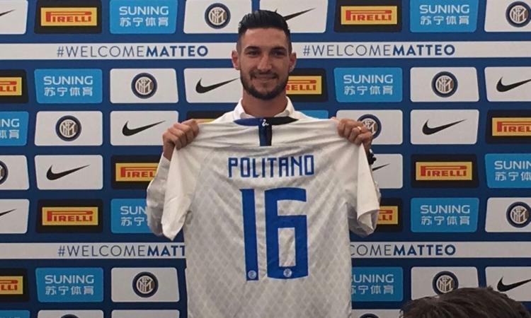 Terza Maglia Inter Milan MATTEO POLITANO