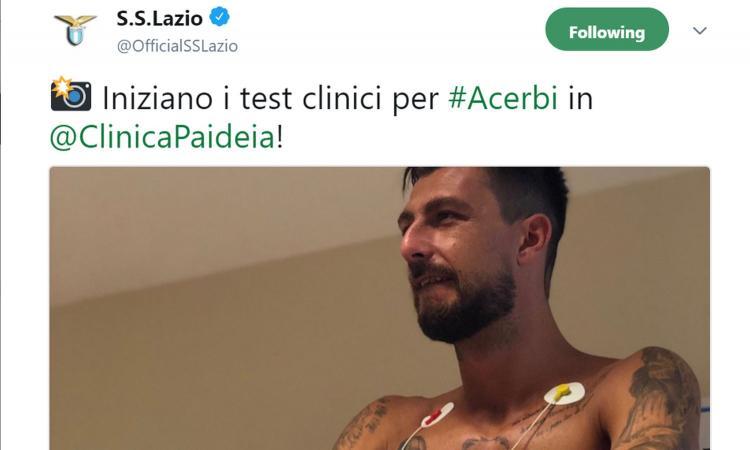 Lazio, visite mediche per Acerbi: ecco i dettagli dell'affare