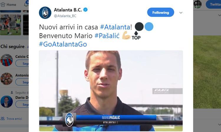 Terza Maglia Atalanta MARIO PASALIC