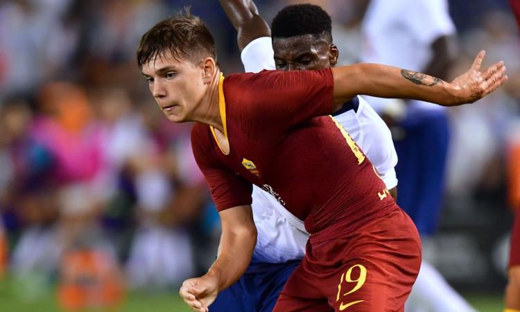 Roma, amichevole con la Lupa: in gol Coric