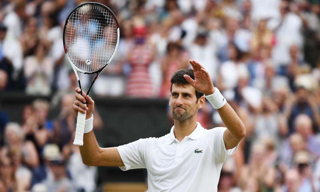 Djokovic, il tennista campione cresciuto con la guerra