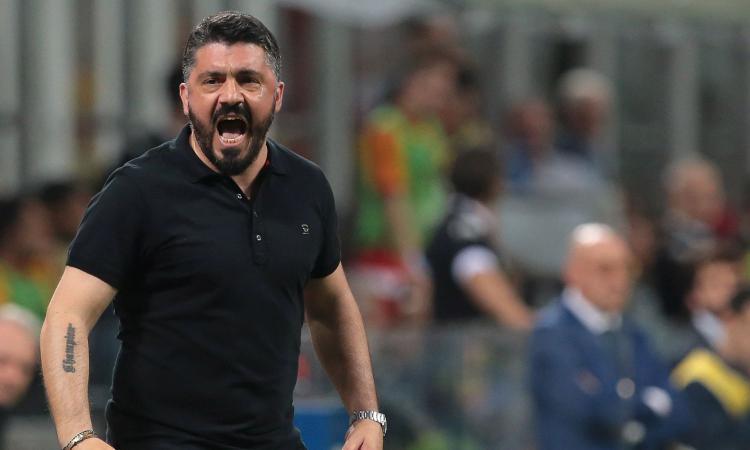 Napoli, contatto Giuntoli-Gattuso per il post-Ancelotti