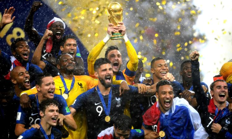 Risultati immagini per francia campione del mondo