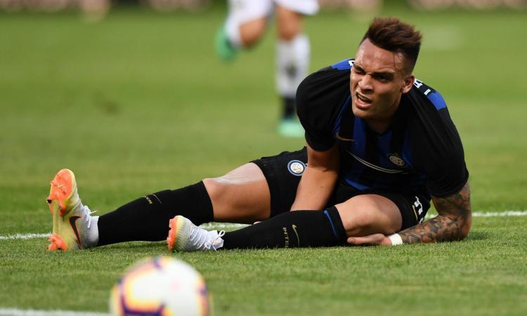 Inter, Lautaro Martinez verso il forfait anche contro il Tottenham