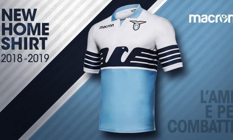 Lazio, svelata la casacca 'Home': torna la 'maglia bandiera'