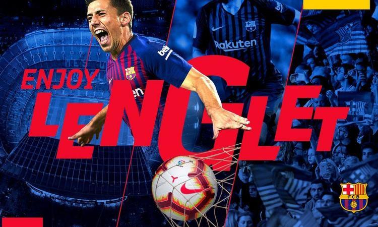Barcellona, senti Kjaer: 'Lenglet? E' un grande difensore, lavora duramente'