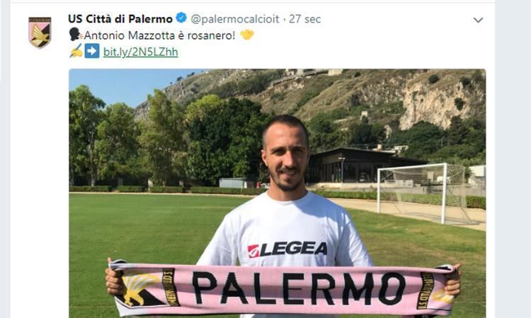 Palermo, UFFICIALE: ecco Mazzotta