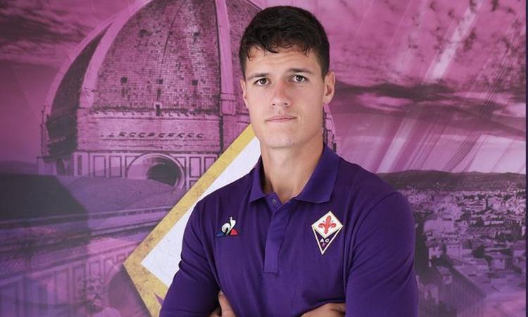 Terza Maglia Fiorentina CHRISTIAN NORGAARD