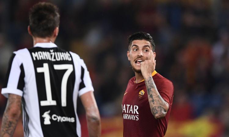 Roma, Pellegrini 'difende' El Shaarawy dal troll laziale