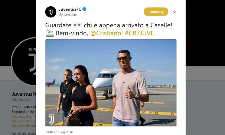 Juve, Ronaldo è a Torino: rivivi la giornata dello sbarco FOTO e VIDEO