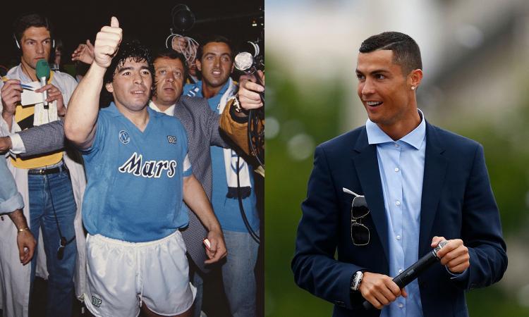 Cristiano Ronaldo come Maradona: l'Italia ringrazi la Juve, ora conta di più