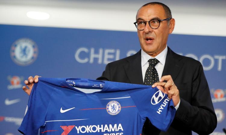 Chelsea: l'inglese di Sarri già meglio di quello di Conte VIDEO