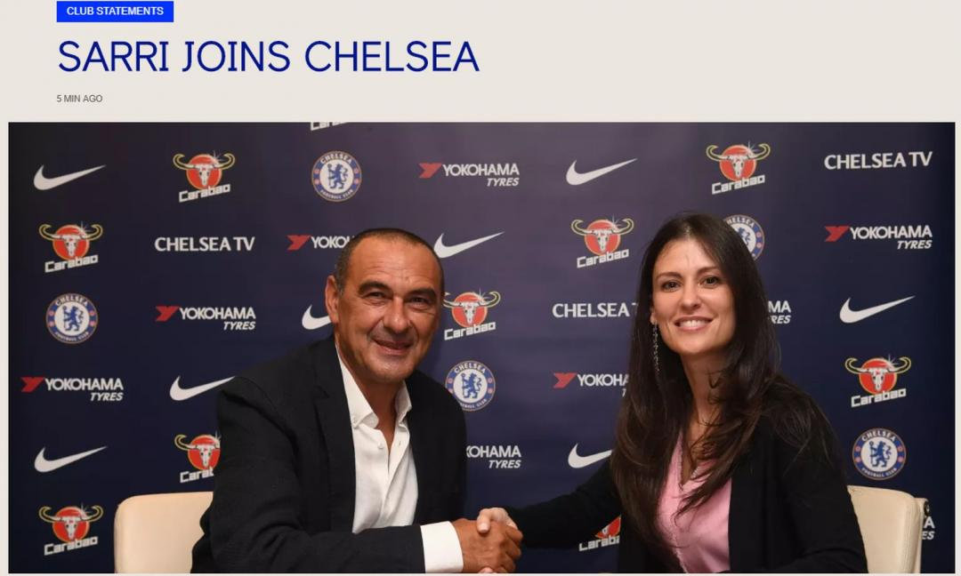 Sarri in blues per un Chelsea affascinante. The Italian Job