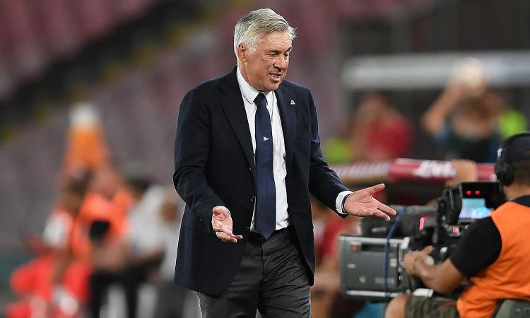 Napoli, 6 tiri e 6 gol presi: telefonata nella notte, tutti i dubbi di Ancelotti